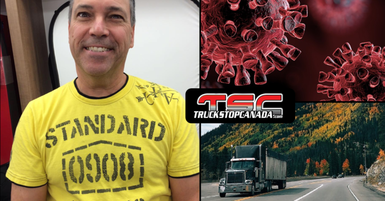 Covid-19: Pierre Bernier, long-haul trucker, shares his experience