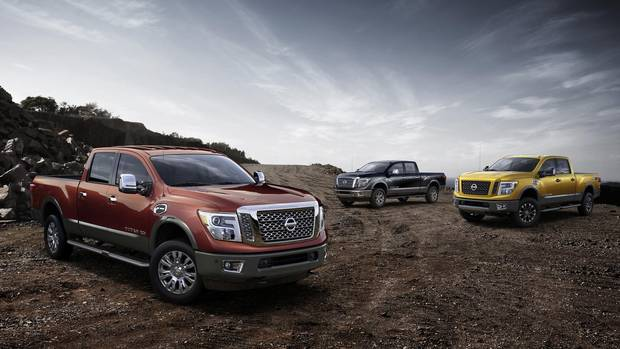 Nissan prices Titan pickup truck for Canada