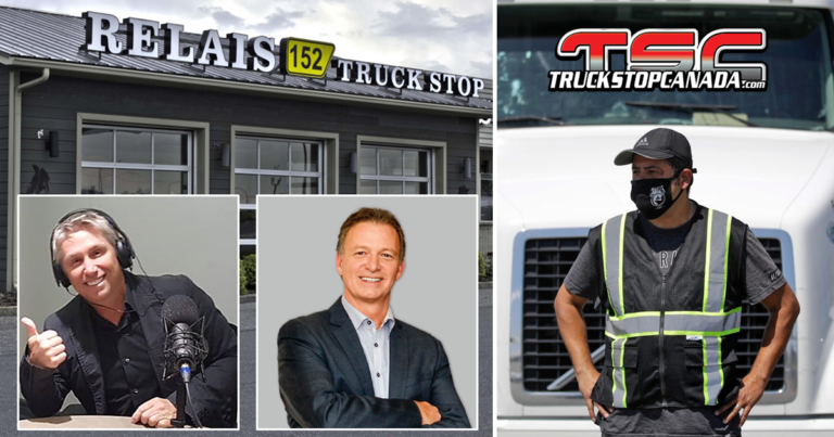 Major trucking players in Quebec will offer meals to truckers