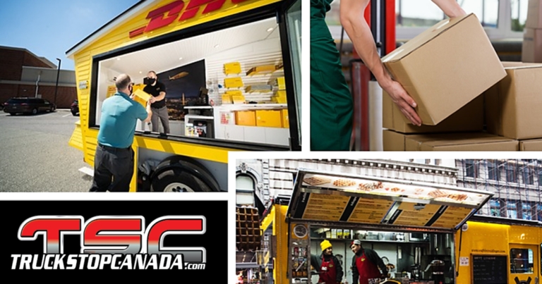 DHL Express & their new mobile units
